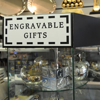 Engravable gifts